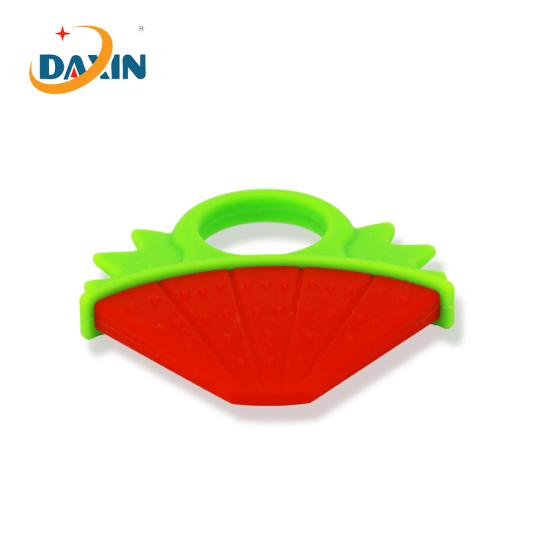 Food grade silicone baby teether