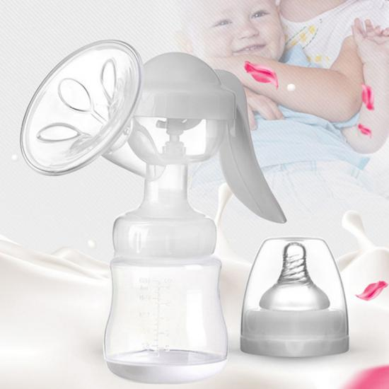 Silicone baby pump
